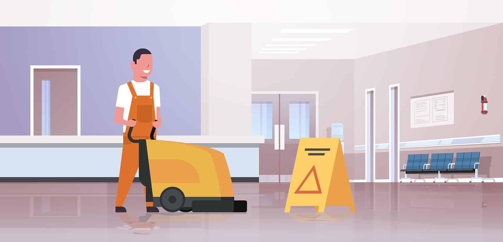 نظافت منزل به صورت حرفه ای