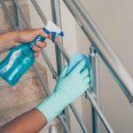 نظافت منزل و راه پله در اختیاریه با سرویس ضد عفونی کامل سطوح