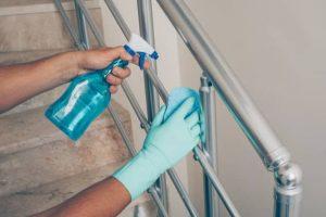 نظافت منزل و راه پله در اختیاریه
